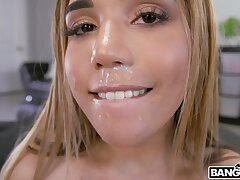 Amazing sex on a difficulty fur sofa with 69 affectedness with Latina Alita Lee