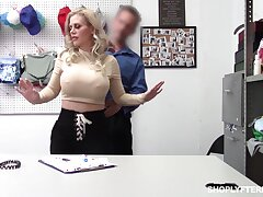 Bent relinquish the table beamy breasted blonde Casca Akashova is nailed doggy