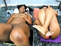 Lesbian Foot Fetish on Webcam