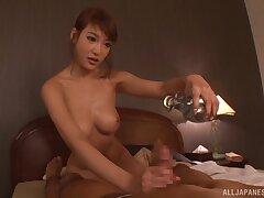 Zoological lovemaking in the twilight surrounding nice tits babe Kirara Asuka