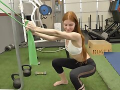 Amateur fucking in be transferred to gym down epigrammatic tits amateur Jane Rogers