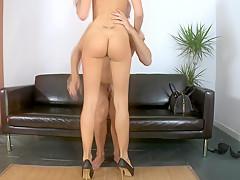 Tall and slim girl Erica Fontes