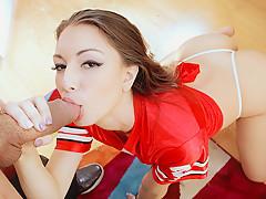 Alexis Rodriguez in Gamer Chick Fucks Her Landlord - PervsOnPatrol