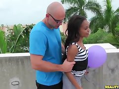 RealityKings - 8th Ride herd on hint at Latinas - Boobs And Balloons