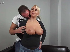 Sexy chubby breasted German mom fucking juveniles