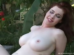 Chesty beauty Mae Victoria rides a dick get pleasure from a champ and she is a nature girl