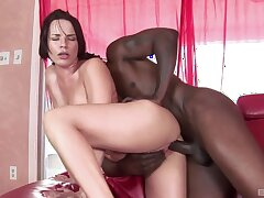 Anal with Dana who loves the BBC so much